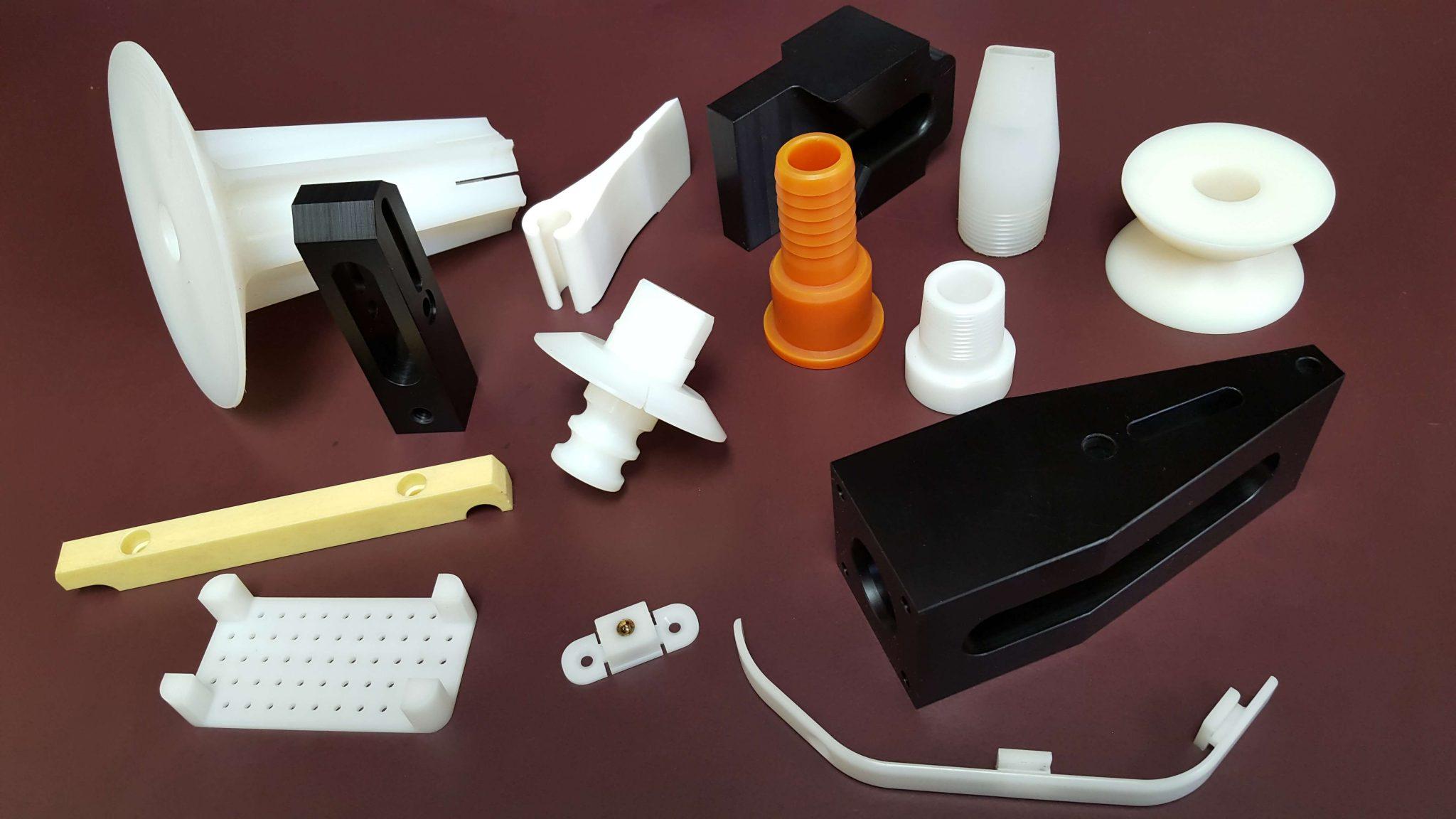 various plastic parts